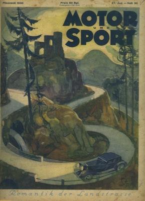 Motor & Sport 1930 Heft 30