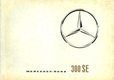 Mercedes-Benz 300 SE Prospekt 7.1961 e