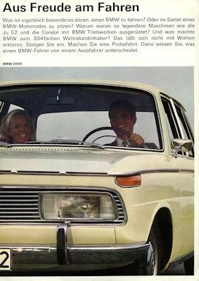 BMW Programm 4.1967