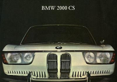 BMW 2000 CS Prospekt 6.1965
