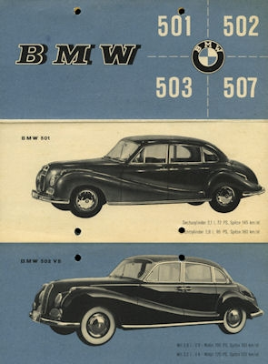 BMW Programm 1956