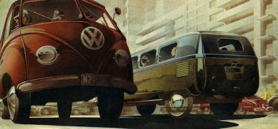 VW Transporter Programm 1951