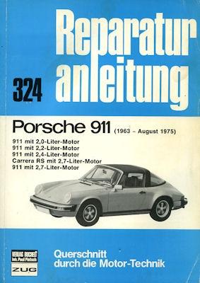 Porsche 911 Reparaturanleitung 1963-1975