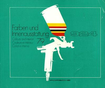 Porsche 924 Farben 1979