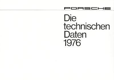 Porsche 911 Technische Daten 1976