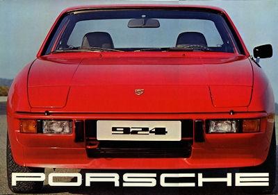 Porsche 924 Prospekt 1976