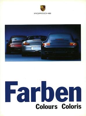 Porsche Farben 1998