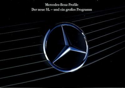 Mercedes-Benz Der neue SL Prospekt 2.1989