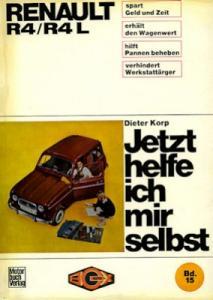 Renault 4 Reparaturanleitung 1967