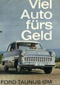 Ford Taunus 12 M Prospekt 1959