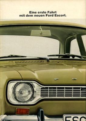 Ford Escort Prospekt 2 1968