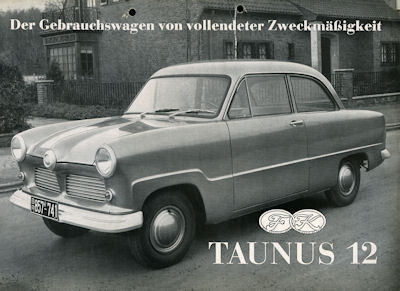 Ford Taunus 12 M Prospekt 1953