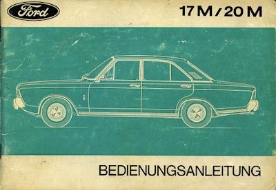 Ford 17 20 M Bedienungsanleitung 1973