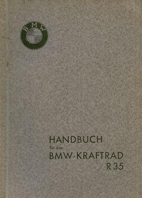 BMW R 35 Bedienungsanleitung 5.1937