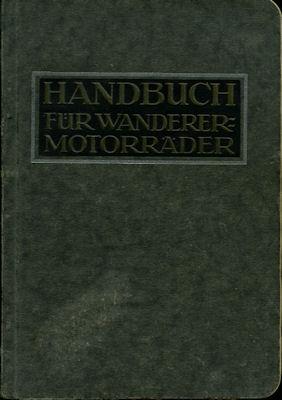 Wanderer Motorräder 2,5 4,5 + 5,4 PS Bedienungsanleitung 3.1925