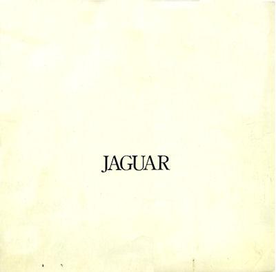 Jaguar XJ 5.3 Prospekt 8.1975