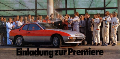 Porsche 924 Turbo Prospekt 1979
