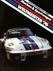 Porsche Motorsport Prospekt 1977