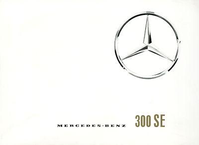 Mercedes-Benz 300 SE Prospekt 2.1964