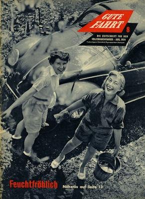 VW Gute Fahrt Heft 8 1954