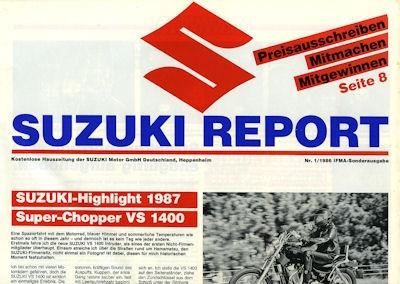 Suzuki Report Nr.1 1986