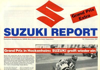 Suzuki Report Nr.3 1987