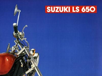Suzuki LS 650 Prospekt 1987