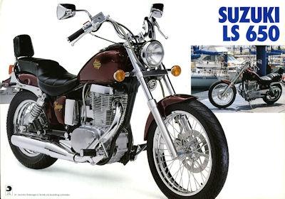 Suzuki LS 650 Prospekt 1989
