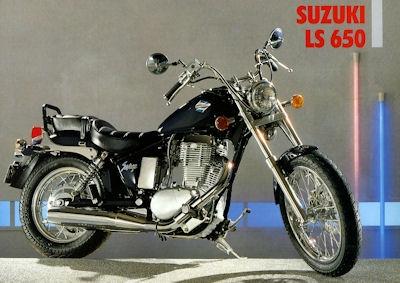 Suzuki LS 650 Savage Prospekt 1990