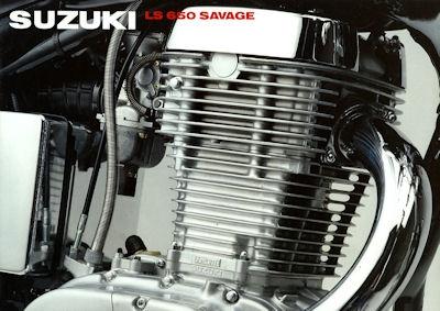 Suzuki LS 650 Savage Prospekt 1991