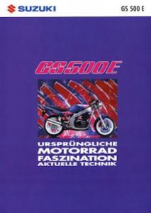 Suzuki GS 500 E Prospekt 1993