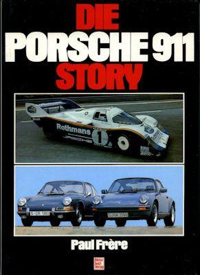 Paul Frere Die Porsche 911 Story 1989