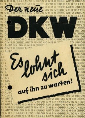 DKW Meisterklasse Prospekt 2.1951