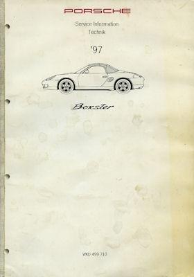 Porsche Boxster Service Information Technik 1997