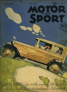 Motor & Sport 1930 Heft 9