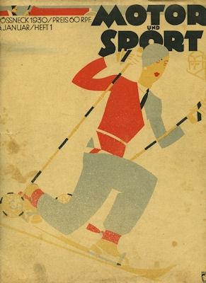 Motor & Sport 1930 Heft 1