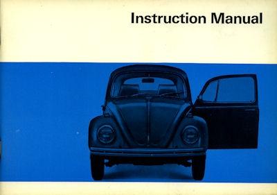 VW Käfer Bedienungsanleitung 8.1968 e
