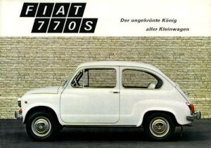 Fiat 770 S Prospekt 1971