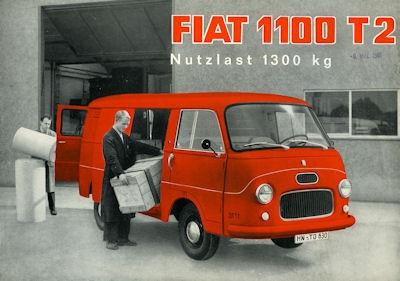 Fiat 1100 T 2 Prospekt 1961