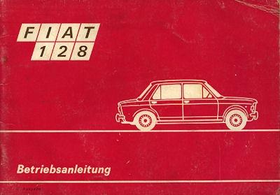 Fiat 128 Bedienungsanleitung 1973