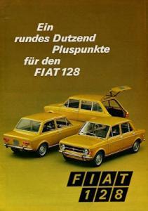 Fiat 128 Prospekt 1971