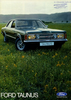Ford Taunus Prospekt 1972