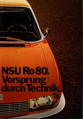 NSU Ro 80 Prospekt 5.1971