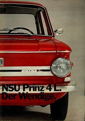 NSU Prinz L Prospekt 5.1971