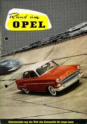Rund um Opel Broschüre ca. 1958