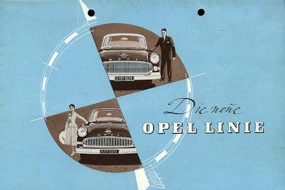 Opel Programm ca. 1955