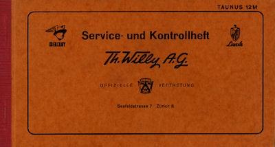 Ford US-Modelle Service und Kontrollheft 1960er Jahre