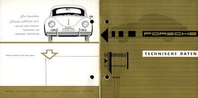 Porsche 356 A Technische Daten 2.1959