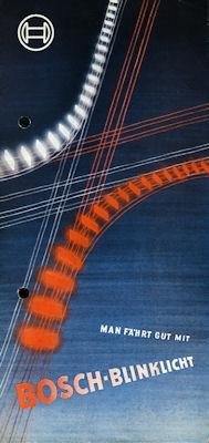 Bosch Blinklicht 1950er Jahre