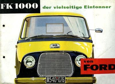 Ford FK 1000 Prospekt 1955